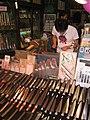 Kitchen knives shop by Moody75 in Tsukiji Fish Market, Tokyo.jpg