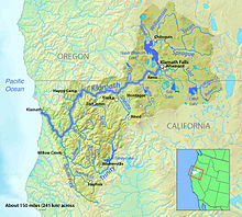 List Of Rivers Of California Wikipedia - Rivers in southern ca us map