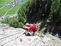Klettersteig Lehner Wasserfall - panoramio (6).jpg