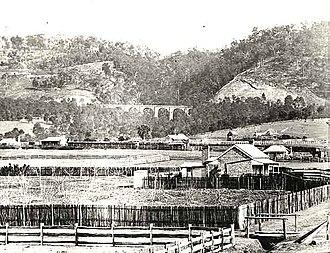 Lapstone Zig Zag - View From Emu Plains, New South Wales