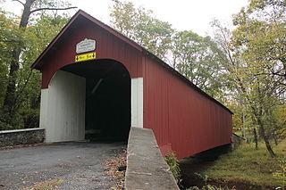 Cooks Creek (Delaware River tributary) watercourse in Bucks County, Pennsylvania, United States