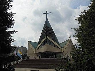 Andrzej Ciechanowiecki - Church of St. Maksymilian Kolbe, Kraków