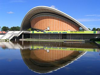 "Interbau - Berlin Congresshall (Haus der Kulturen der Welt - ""House of the Cultures of the World"") by Hugh Stubbins in 2007"