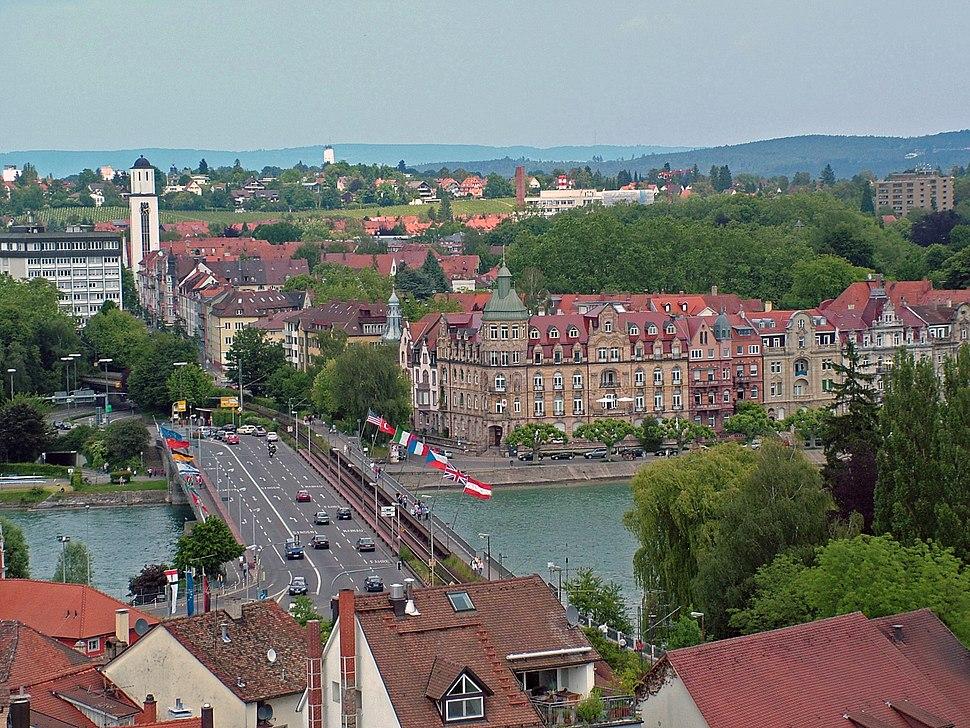 Konstanz Blick vom Münsterturm