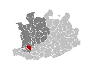 Kontich - Image: Kontich Locatie