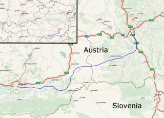 Koralm Railway high-speed railway under construction in Austria