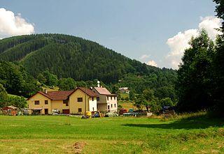 Košařiska Village in Moravian-Silesian, Czech Republic