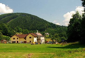 Košařiska - View from the village
