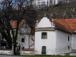 Holy Trinity Church, Podhradie church building in Bratislava, Slovakia