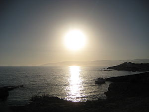 Koufonisia - Image: Koufonisia sunset
