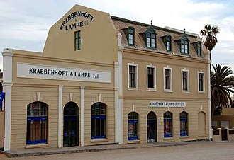 Coloured people in Namibia - Krabbenhöft – oldest coloured business in Namibia