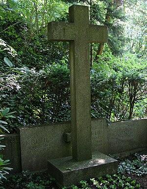Ludolf von Krehl - Krehls grave in Heidelberg
