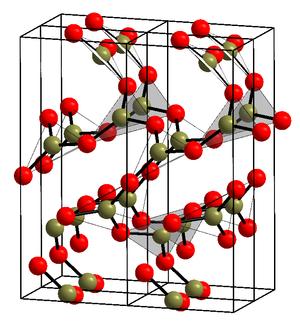 Boron trioxide - Image: Kristallstruktur Bortrioxid