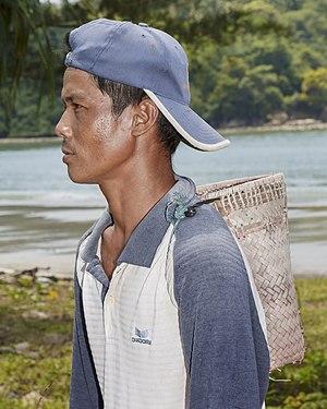 Rungus people - Image: Kudat Sabah Kg Loro Kecil 04