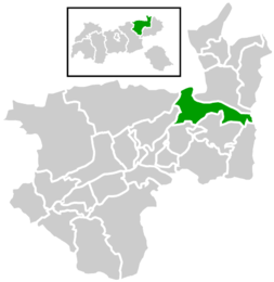Location within Kufstein destrict