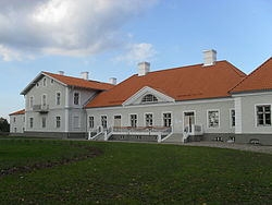 Main building of Kukruse manor