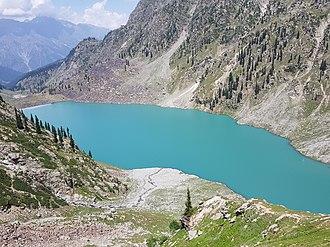 Kundol Lake - Kundol Lake, Swat Valley