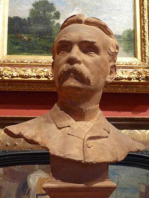 Léon-Joseph Chavalliaud - A portrait bust of M. Henry Vasnier