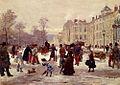 Léon Voirin - Un jour d'hiver.jpg