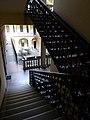 Löwy house (1894). Courtyard. Staircase. - 33 Teréz Boulevard, Budapest.JPG