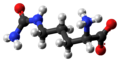 L-Citrulline zwitterion ball from xtal.png