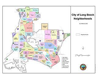 Neighborhoods of Long Beach, California