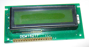 This is a general-purpose alphanumeric LCD