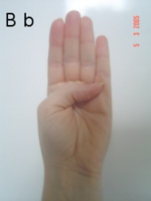 French manual alphabet