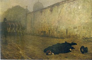 <i>The Execution of Marshal Ney</i> 1868 painting by Jean-Léon Gérome