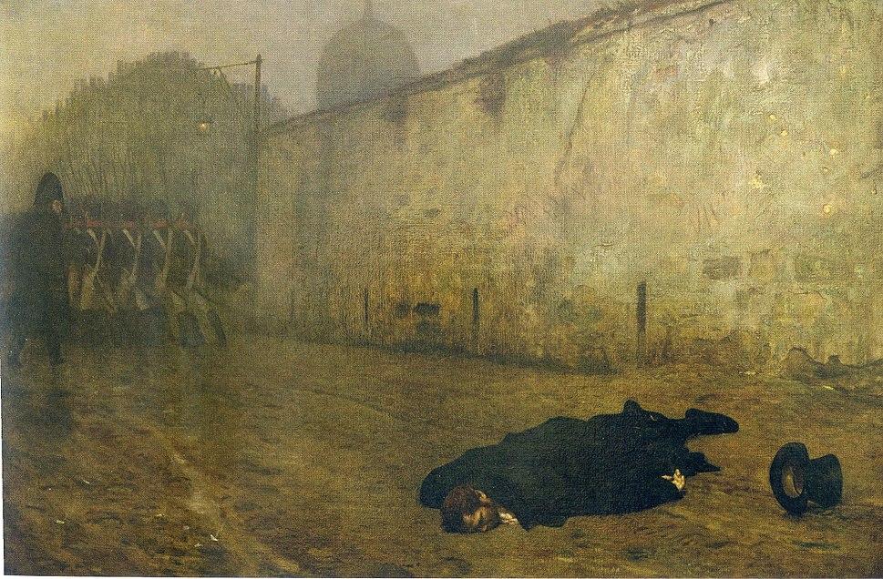 La Mort du Maréchal Ney (1868)