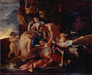 La Nourriture de Bacchus - Nicolas Poussin - National Gallery London.jpg