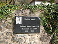 La Rue, La Combe-de-Lancey abc2 Henri Boulle plaque.JPG