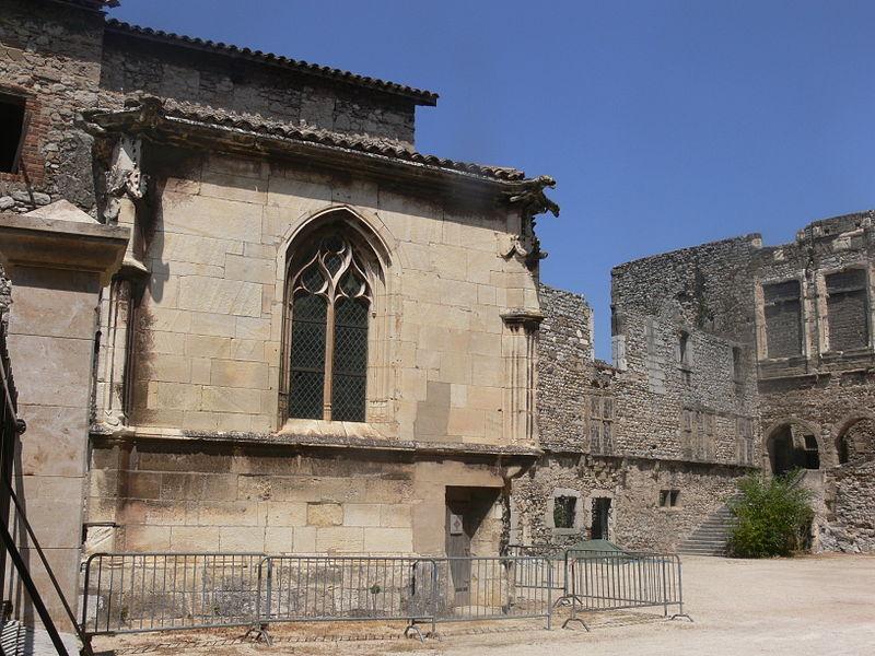 La Voulte-sur-Rhône - chapelle du château