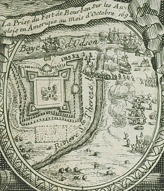 Capture of York Factory - Capture of Fort Bourbon (York Factory) by the French in 1694.