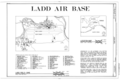 Ladd Field, Fort Wainwright, Fairbanks, Fairbanks North Star Borough, AK HABS AK,6-FAIBA,1- (sheet 1 of 1).png