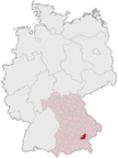 Mühldorf am Inn - Panorama miasta - Niemcy