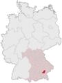 Lage des Landkreises Mühldorf a.Inn in Deutschland.png