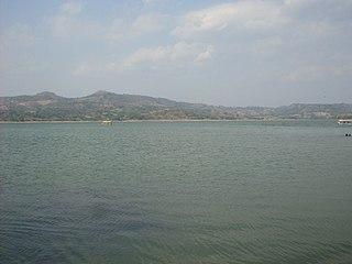 Cerrón Grande Reservoir Reservoir in northern El Salvador