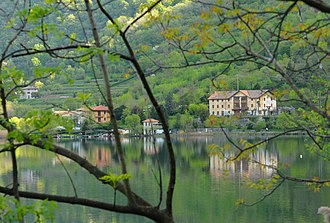 Canzo - Lake Segrino has a role in moderating hot temperatures in summer and in tempering cold ones during winter.