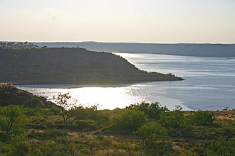 Lake Meredith National Recreation Area - Lake Meredith at sunset