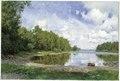 Lake View at Engelsberg, Västmanland (Olof Arborelius) - Nationalmuseum - 18475.tif