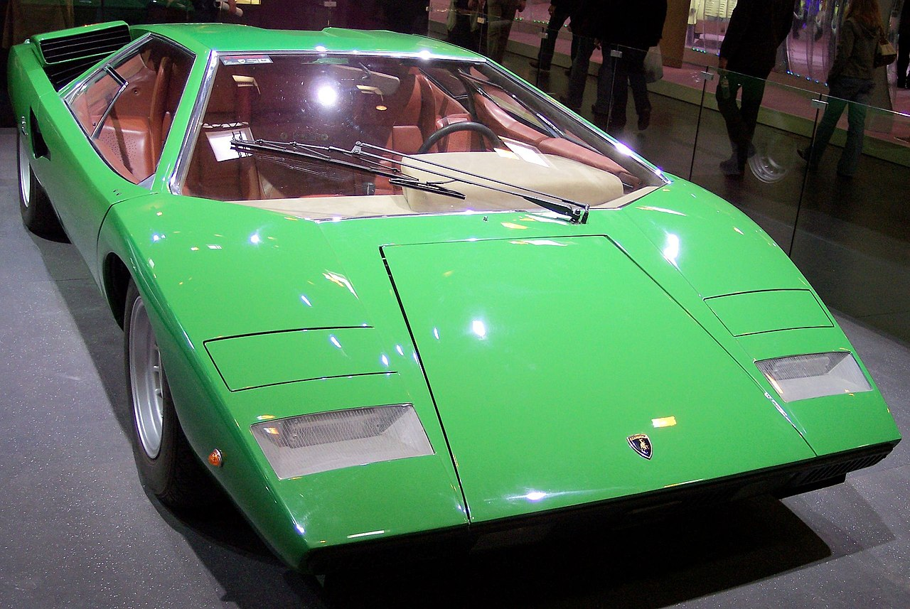 file lamborghini countach green vr wikimedia commons. Black Bedroom Furniture Sets. Home Design Ideas