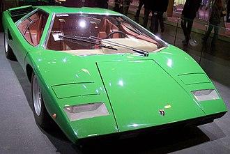 History of Lamborghini - Lamborghini Countach LP400