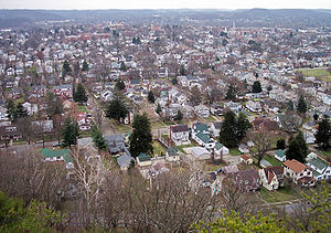 Lancaster, Ohio - Lancaster as viewed from Mount Pleasant in 2006