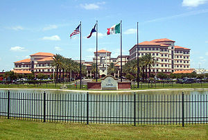 Laredo metropolitan area - Laredo Medical Center, formerly Mercy Hospital, is the largest hospital in Laredo.