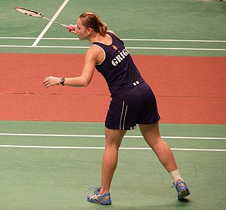 Larisa Griga Badminton player