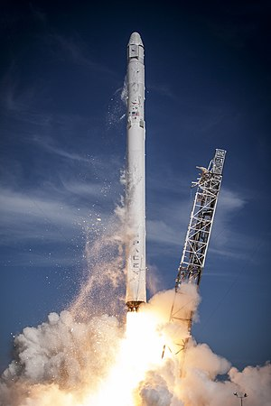 SpaceX CRS-6 - Launch of the Falcon 9 v1.1 rocket carrying the CRS-6 Dragon spacecraft on April 14, 2015