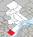 Lavaltrie Quebec location diagram.png