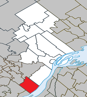 Lavaltrie, Quebec - Image: Lavaltrie Quebec location diagram