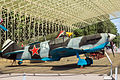 Lavochkin LaGG-3 in the Great Patriotic War Museum 5-jun-2014 Side.jpg